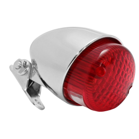 Texas Rear Light - Chrome