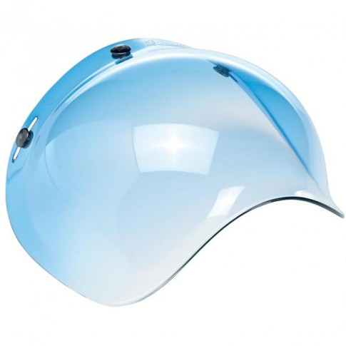 Biltwell Bubble Visor - Blue Gradient