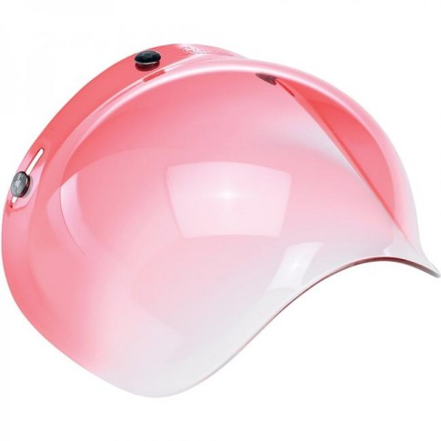 Biltwell Bubble Visor - Red Gradient