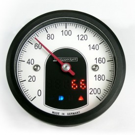 Motoscope Tiny Speedo - Black