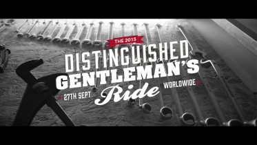 2015 DISTINGUISHED GENTLEMAN'S RIDE OPORTO